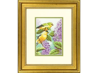 Goldfinch and Lilacs (70-65153)